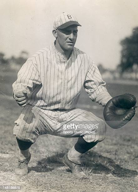Brooklyn Dodger Charles Hargraves photographed in 1924