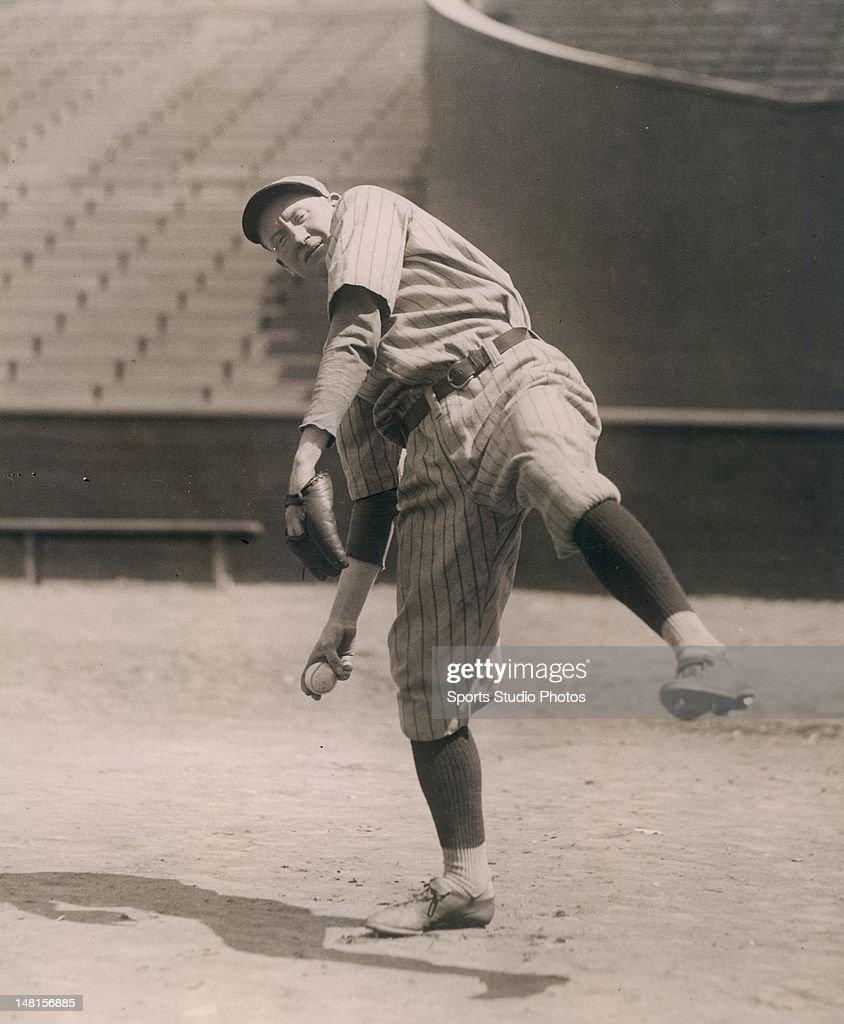 Brooklyn Dodger pitcher Dazzy Vance.