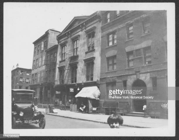 Fireman's Hall, east side of Henry Street between Cranberry Street and Orange Street, New York, New York, 1922.