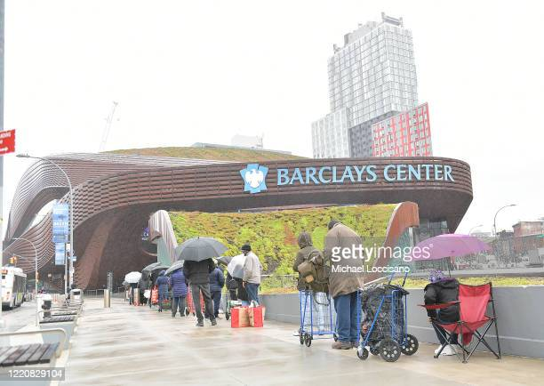 Brooklyn Nets, Barclays Center Partner With Food Bank For New York City To Host Mobile Food Pantry For New Yorkers Impacted By Covid-19 Pandemic at...