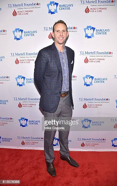 Brooklyn Nets General Manager Sean Marks attends TJ Martell Foundation's 41st Annual Honors Gala at Gustavino's on October 18 2016 in New York City