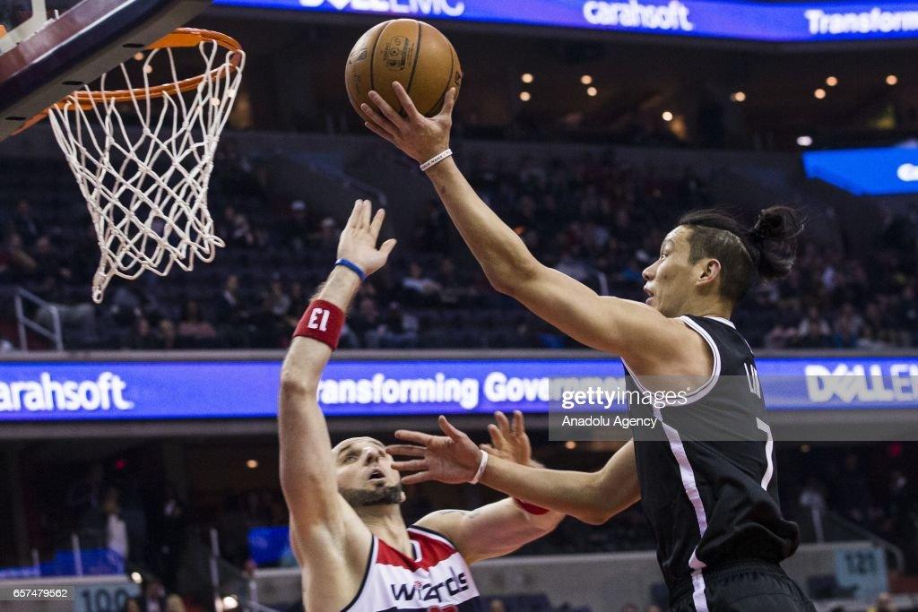 NBA - Washington Wizards vs Brooklyn Nets : News Photo