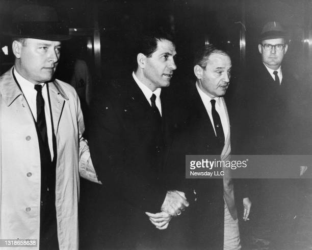 """Organizaed crime figure John """"Sonny"""" Franzese is brought into Brooklyn Federal Court in New York after being picked up by FBI agents on April 12,..."""