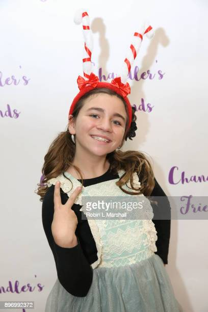 Brooklyn Robinson attends Chandler's Friends Toy Drive and Wrapping Party at Los Angeles Ballet Academy on December 10 2017 in Encino California