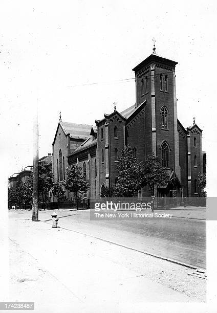St Patrick's Roman Catholic Church north side of Willoughby Avenue from Kent Avenue to Graham Street ie Taaffee Place New York New York 1922