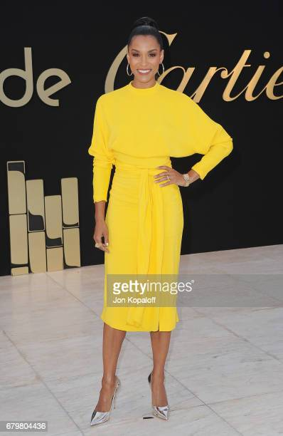 Brooklyn Sudano arrives at the Panthere De Cartier Party In LA at Milk Studios on May 5, 2017 in Los Angeles, California.