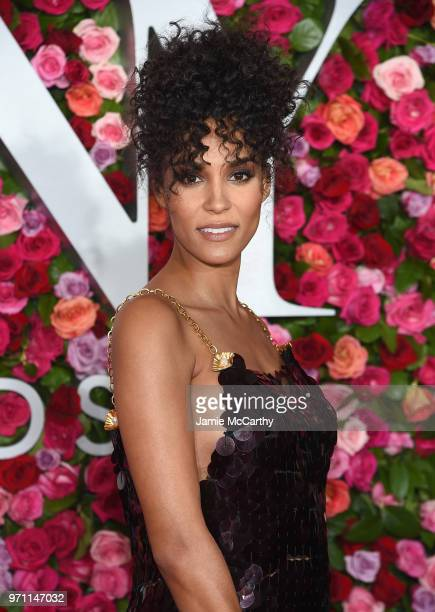 Brooklyn Sudano attends the 72nd Annual Tony Awards at Radio City Music Hall on June 10 2018 in New York City
