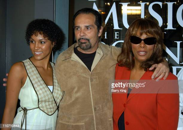 Brooklyn Sudano Bruce Sudano and Donna Summer during Driven By The Music The Art Of Donna Summer Opening at The Grove in Los Angeles California...