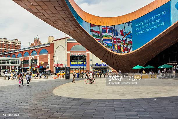 brooklyn, the barclays center - barclays center brooklyn stock pictures, royalty-free photos & images