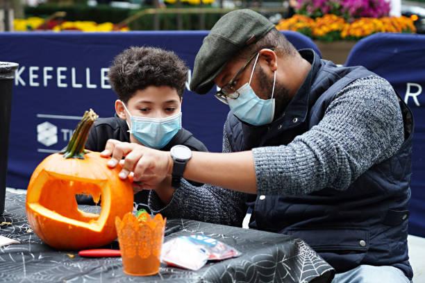 NY: New York City Area Celebrates Halloween 2020