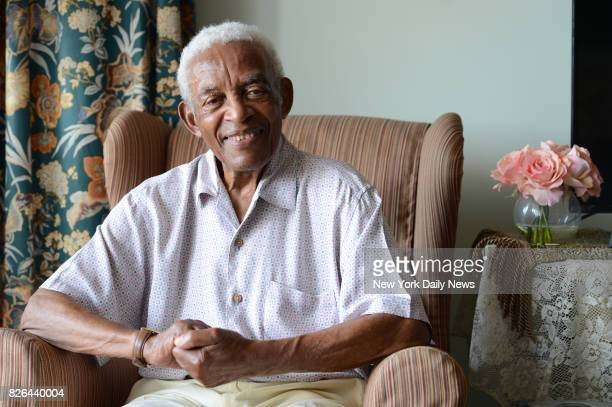 Brooklynborn songwriter Irving Burgie who penned DayO turns 93 on July 28th photographed in his Queens home on Wednesday July 19 2017
