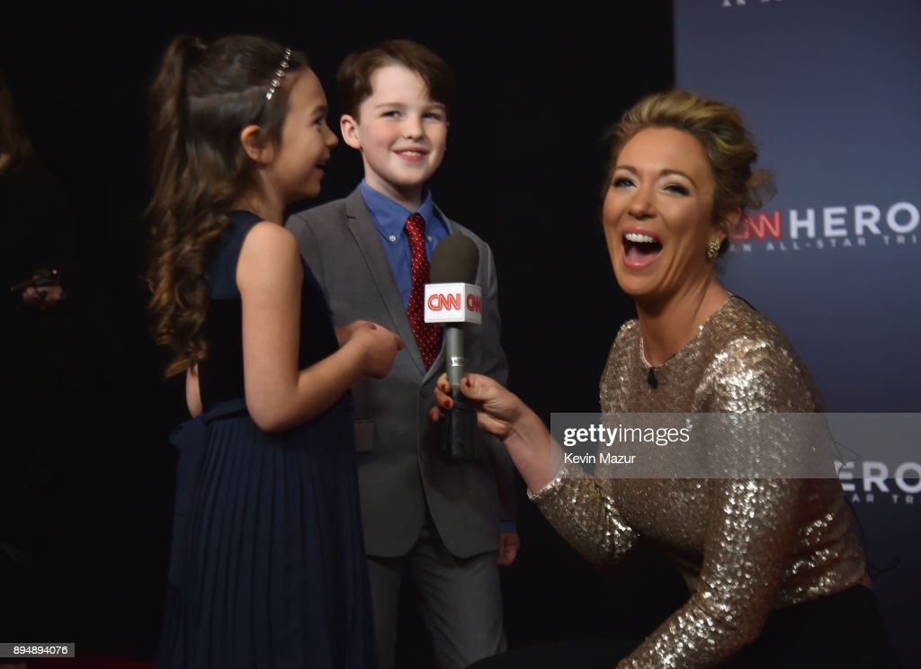 CNN Heroes 2017 - Red Carpet Arrivals : News Photo