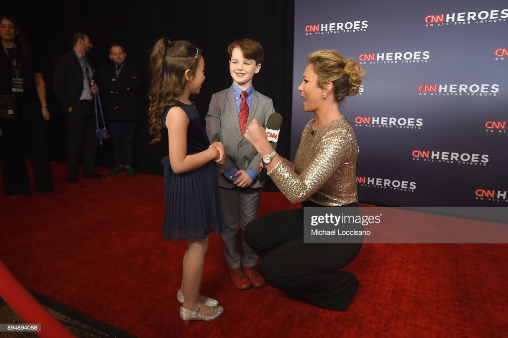 CNN Heroes 2017 - Red Carpet Arrivals : News Photo