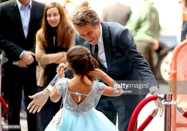 Brooklynn Prince and Willem Dafoe attend 'The Florida Project' premiere during the 2017 Toronto International Film Festival at Ryerson Theatre on...