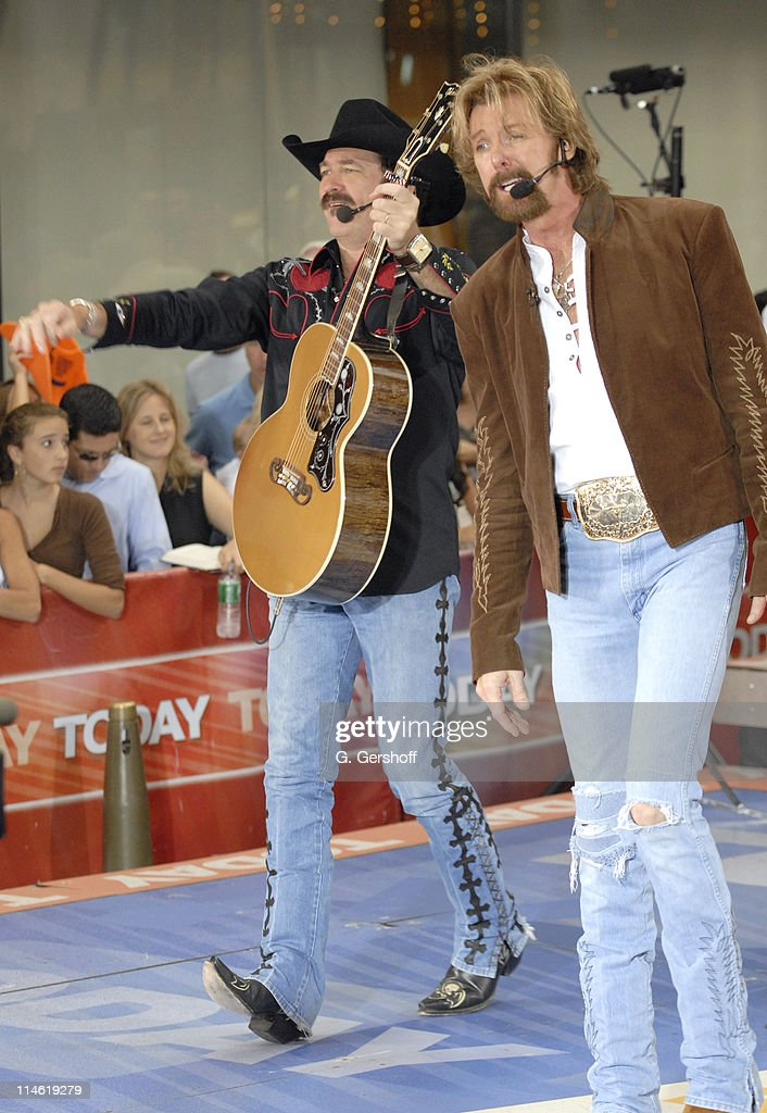 """Brooks and Dunn Perform on NBC's """"The Today Show"""" - August 18, 2006"""