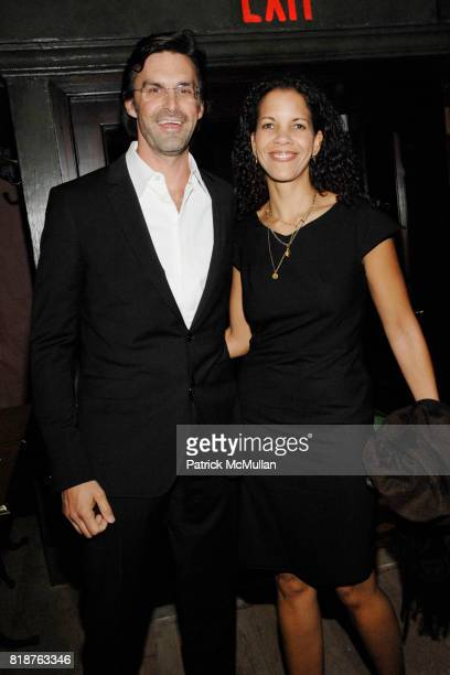 Brooks Branch and Alisson Branch attend THE CINEMA SOCIETY hosts the after party of MULTIPLE SARCASMS at The Lion on April 19 2010 in New York City