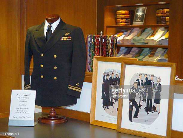 Brooks Brothers Classic Mens Uniform during US Navy Premiere Uniform Collection by Brooks Brothers in Washington DC