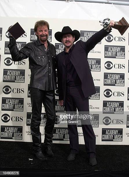 Brooks Dunn during The 36th Annual Academy of Country Music Awards Press Room at Universal Amphitheater in Universal City California United States