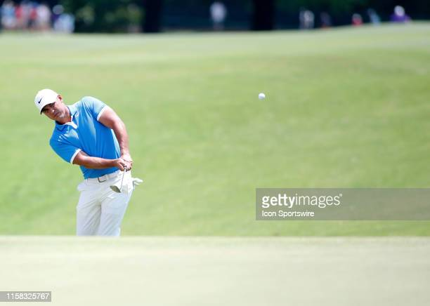 Brooks Koepka during the final round of the World Golf Championships - FedEx St. Jude Invitational, July 28, 2019 at TPC Southwind in Memphis,...