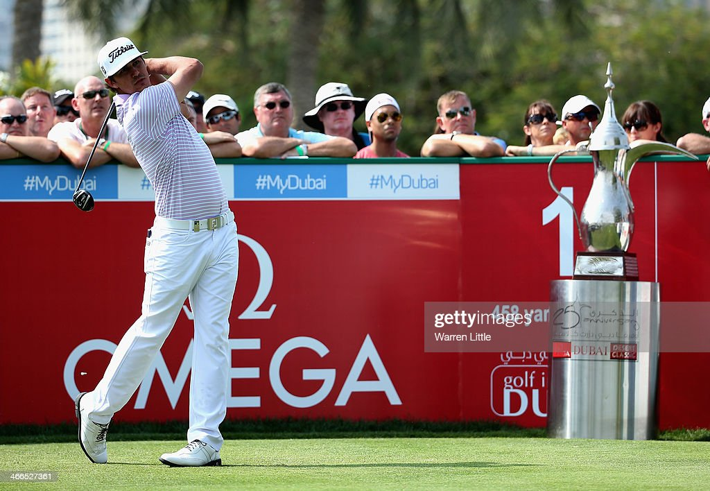9fc7b0e0f Brooks Koepka of the USA tees off on the first hole during the final ...