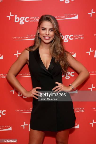 Brooks Nader attends Annual Charity Day Hosted By Cantor Fitzgerald, BGC and GFI - BGC Office - Arrivals on September 11, 2019 in New York City.