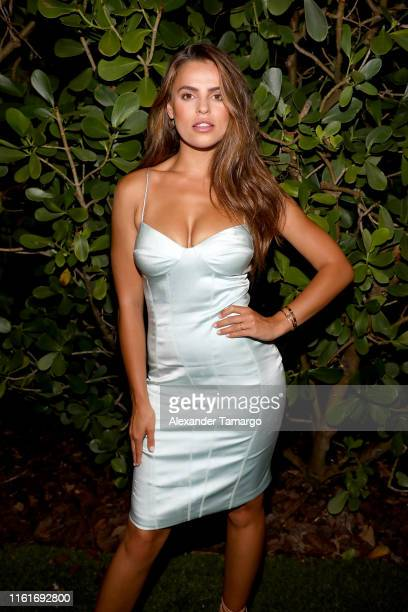 Brooks Nader attends Sports Illustrated Swimsuit x W South Beach Host Miami Swim Week Kickoff Party at W Hotel on July 12, 2019 in Miami, Florida.