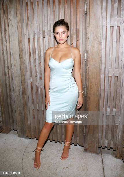 Brooks Nader attends Sports Illustrated Swimsuit x W South Beach Host Miami Swim Week Kickoff Party at W Hotel on July 12 2019 in Miami Florida