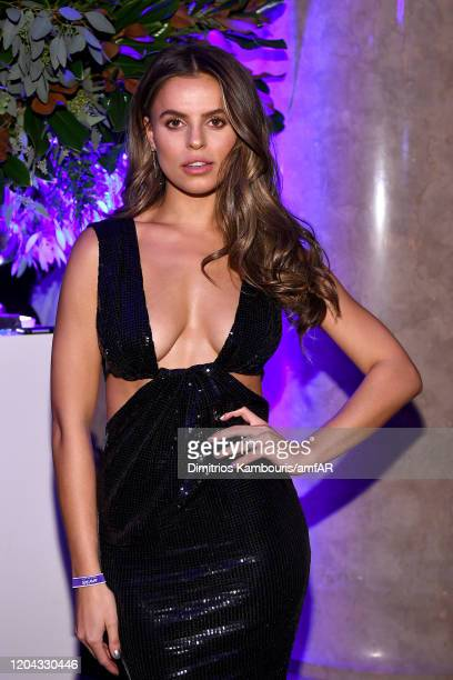 Brooks Nader attends the 2020 amfAR New York Gala at Cipriani Wall Street on February 05, 2020 in New York City.