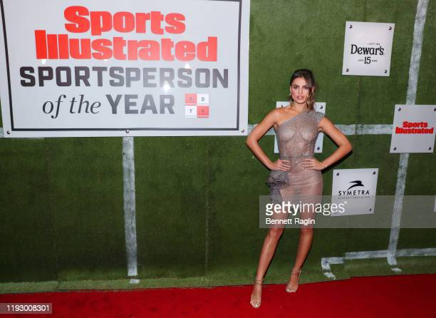 Brooks Nader attends the Sports Illustrated Sportsperson Of The Year 2019 at The Ziegfeld Ballroom on December 09 2019 in New York City