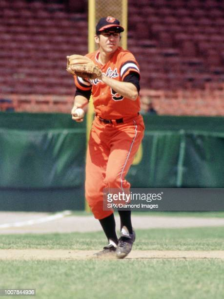 Brooks Robinson Baltimore Orioles in the field during a game from his 1972 season Brooks Robinson played for 21 years all with the Baltimore Orioles...