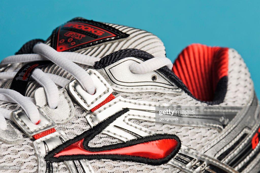 brooks running shoe stock photo getty images