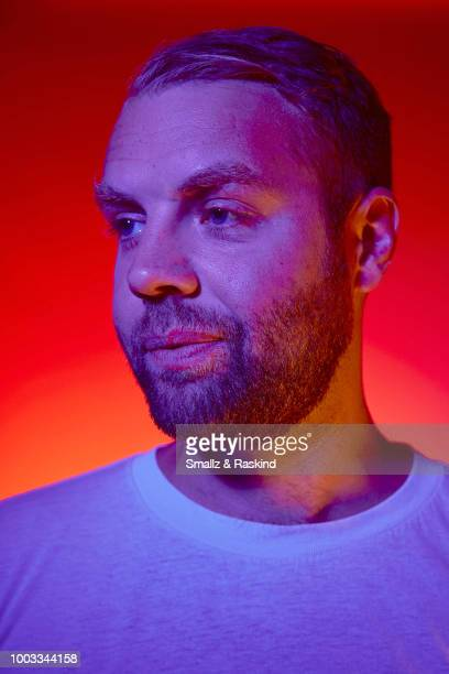 Brooks Wheelan from Disney's 'Big Hero 6' poses for a portrait at the Getty Images Portrait Studio powered by Pizza Hut at San Diego 2018 Comic Con...