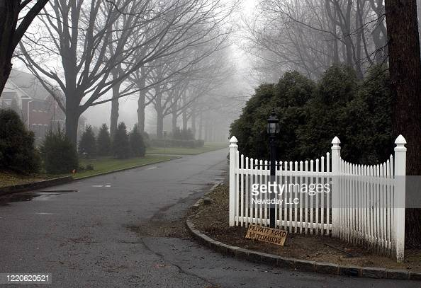 View Of Country Lane In Brookville New York A Private Road Where News Photo Getty Images
