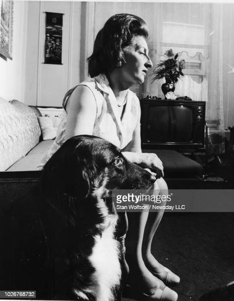 Theresa Wojtowicz mother of bank robber John Wojtowicz of Dog Day Afternoon movie fame at her home at 612 Flatbush Ave in Brooklyn on August 23 1972