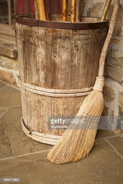 Broom and Barrel