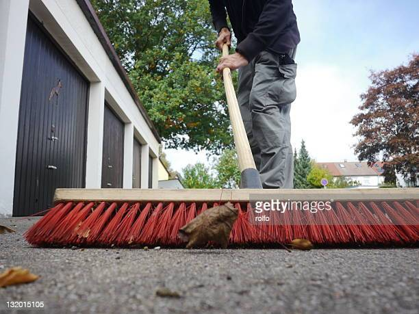 broom - sweeping stock pictures, royalty-free photos & images