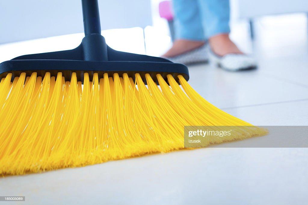 Broom : Stock Photo