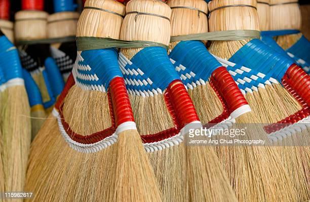 broom stick - 箒 ストックフォトと画像