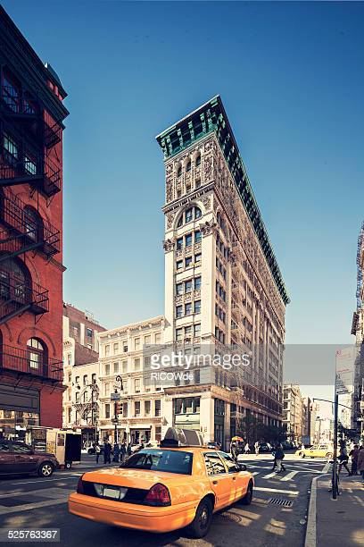 broome street - soho new york stock photos and pictures