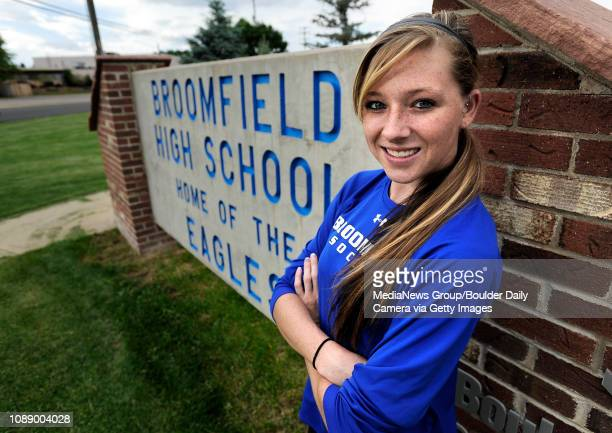 Broomfield High School graduate Brittney Stark on Tuesday June 10 Stark was named as the BoCo Preps soccer player of the year