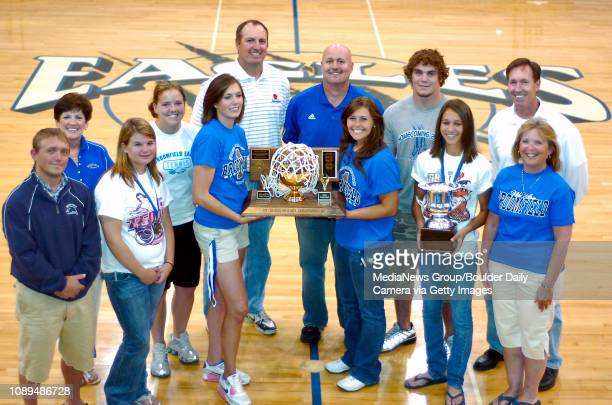Broomfield High won the inaugural Camera Cup for the 20062007 school year for their dominance in athletics Front row from left to right wrestling...