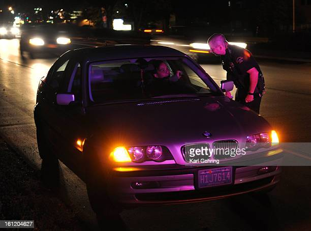 Broomfield Police Department officer Adam Wilcox talked to an interpreter who was called to translate during a traffic stop Thursday night September...
