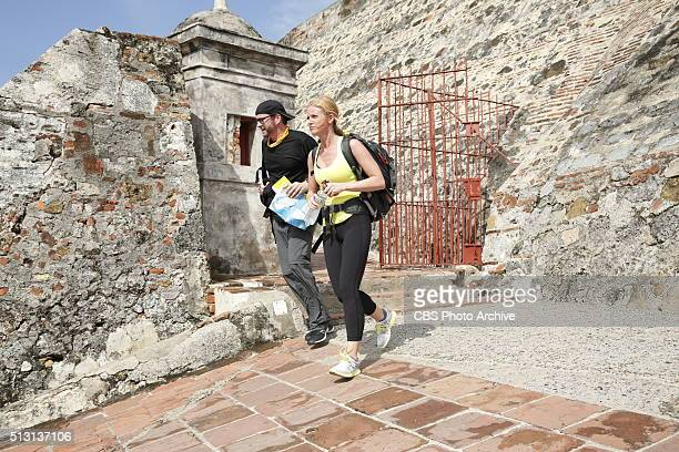 Bros Being JocksAt the Detour Decision Point Burnie and Ashley must search the catacombs in Cartagena Colombia for the next clue then choose between...