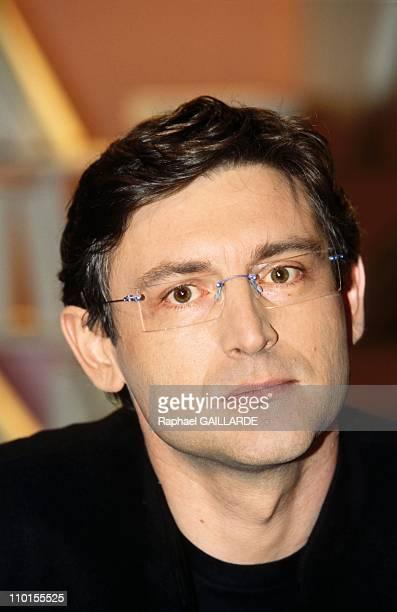 Broth culture 'Faire et defaire l'amour' in Paris France on March 24 2000 Michel Onfray author