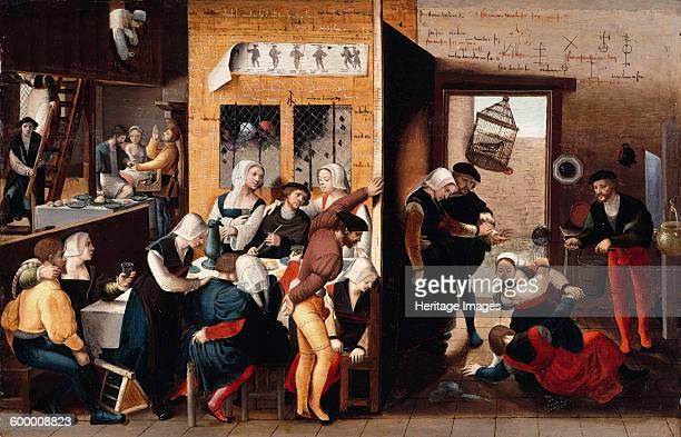 Brothel scene 1537 Found in the collection of Staatliche Museen Berlin Artist Brunswick Monogrammist