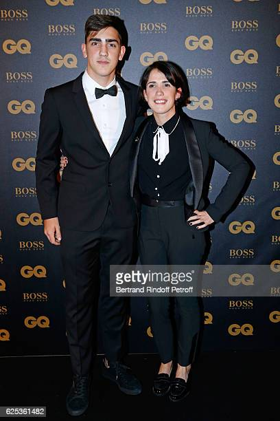 Brother and Sister of Awarded as Sport Man Football Player Antoine Griezmann Theo Griezmann and Maud Griezmann who is a survivor of the Bataclan...