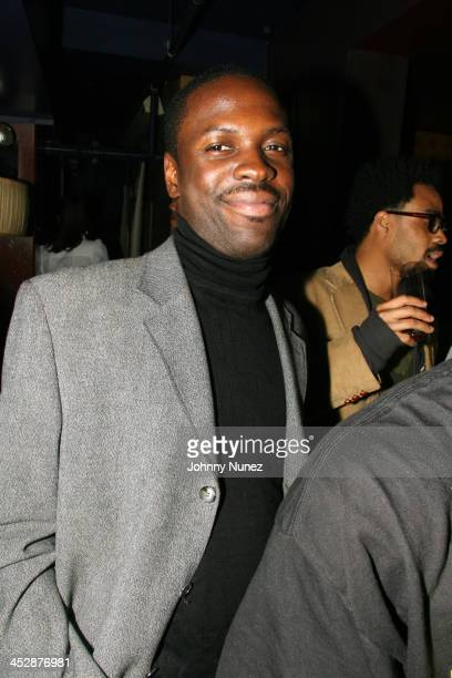 Brother Hasson of Action Hip Hop Summit during Little X/Kenny Burns Halloween Party Hosted by Maxamus Entertainment at Lotus in New York City New...