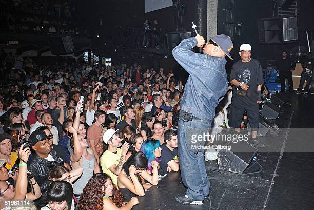 Brother Marquis and Fresh Kid Ice of the rap group 2 Live Crew perform at the BPM Culture Magazine 12Year Anniversary party held at the Avalon...