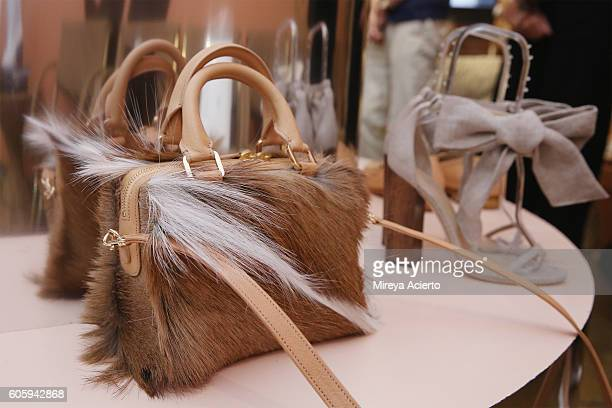 Brother Vellies collection at CFDA {Fashion Incubator} Market Day presentation during New York Fashion Week September 2016 on September 15 2016 in...