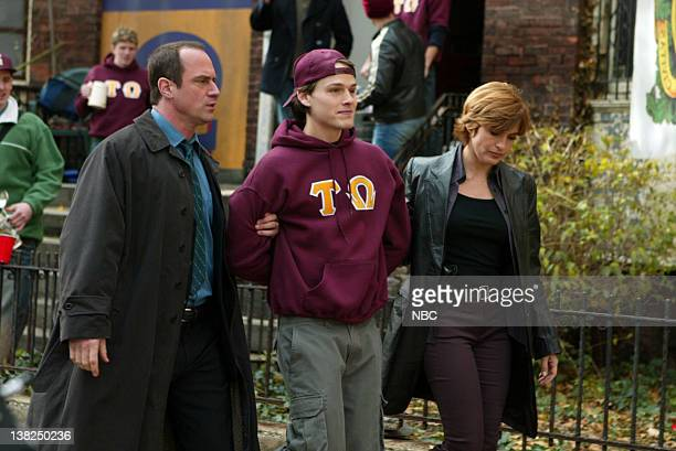 UNIT Brotherhood Episode 12 Pictured Christopher Meloni as Detective Elliot Stabler Noah Fleiss as Nathan Angeli Mariska Hargitay as Detective Olivia...